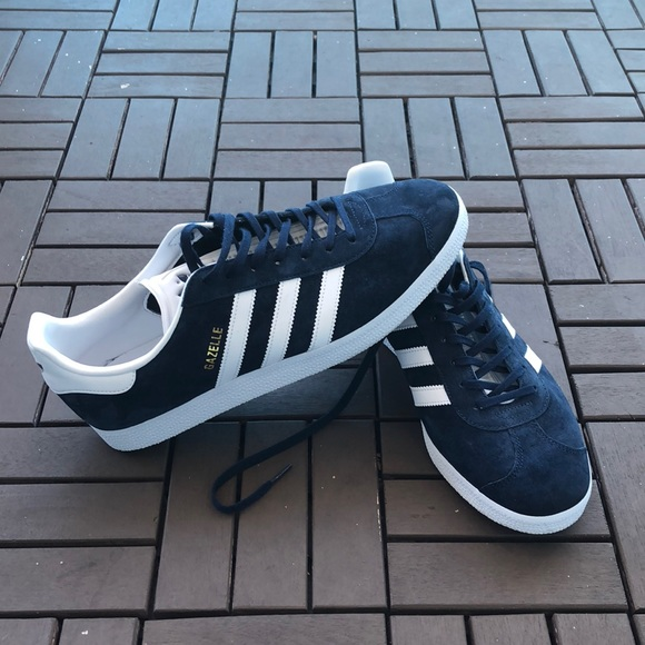 size 40 7f39f 25860 adidas Other - adidas Original Men s Gazelle Navy White Size 11.5